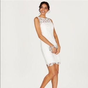 White stunning dress